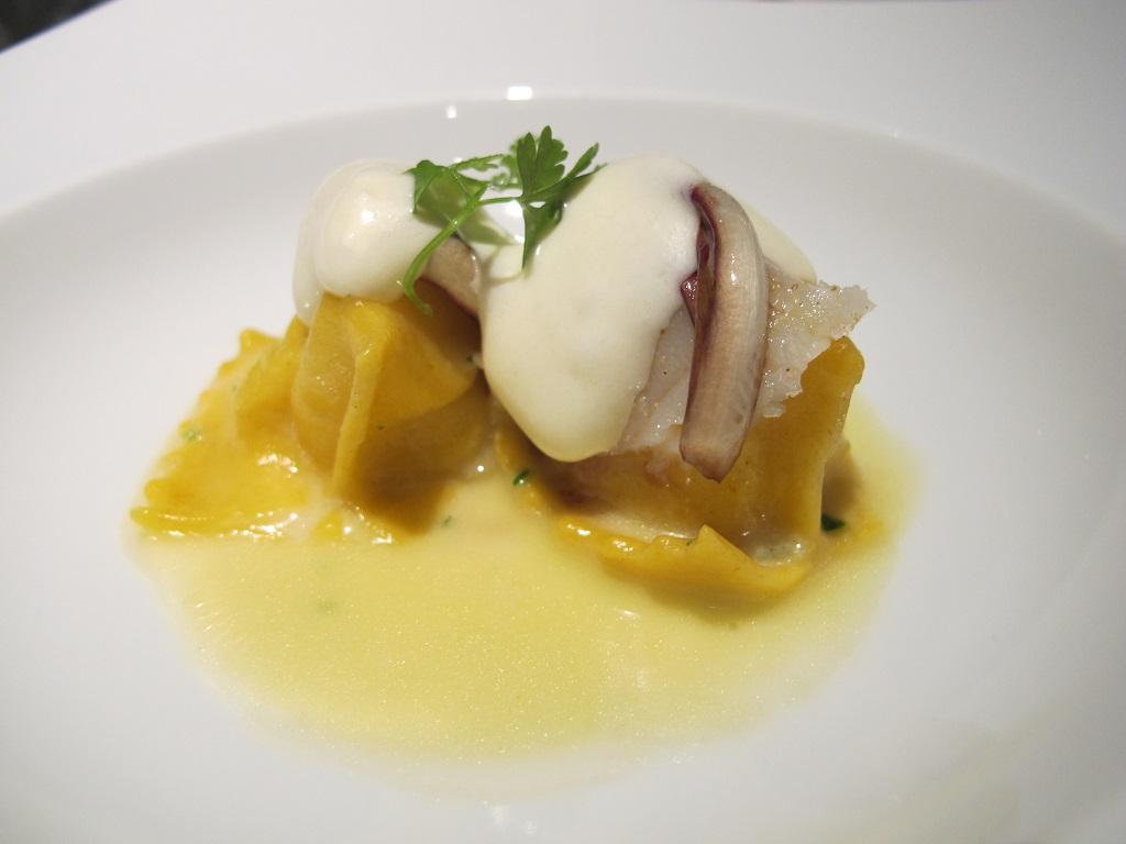 raviolini del plin, Hotel Eden, Chef Fabio Ciervo, Roma