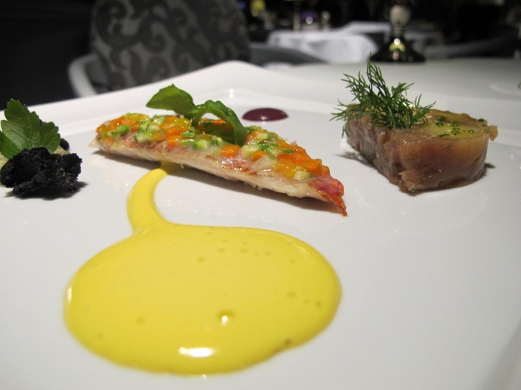 triglia in crosta, Hotel Eden, Chef Fabio Ciervo, Roma