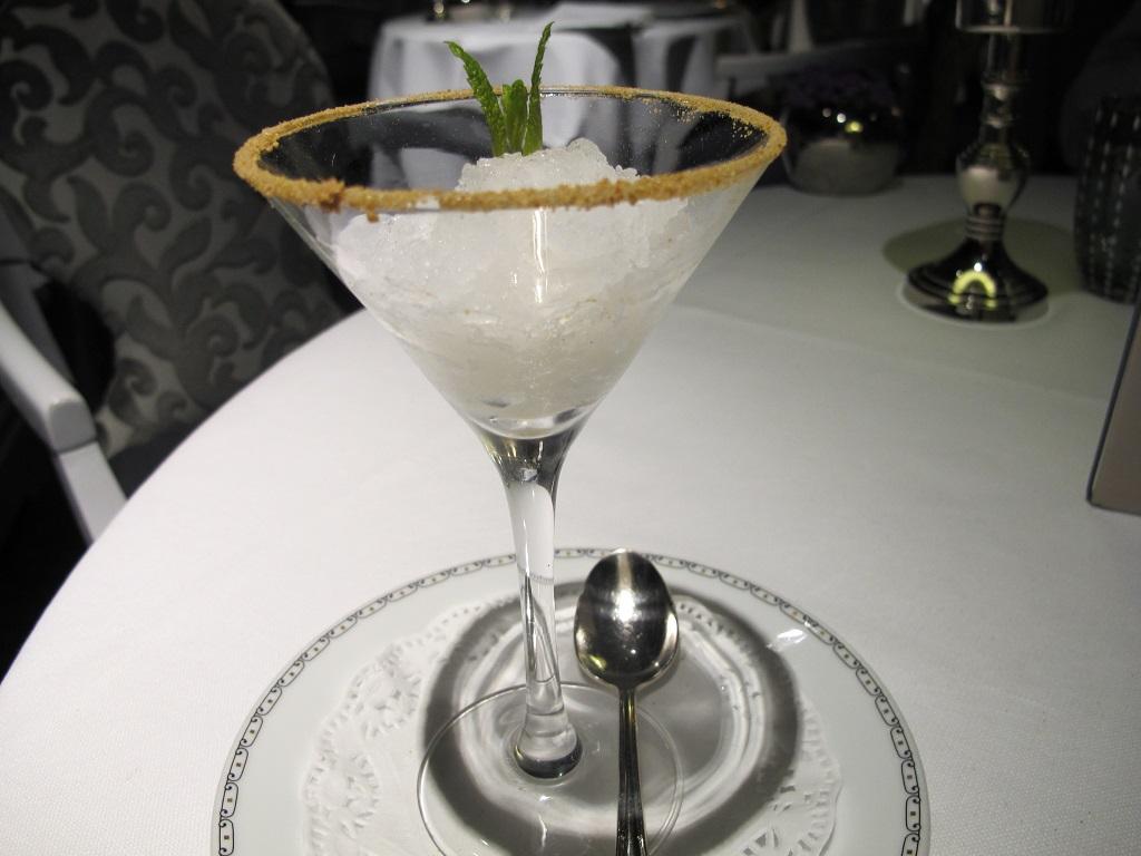 granita, Hotel Eden, Chef Fabio Ciervo, Roma