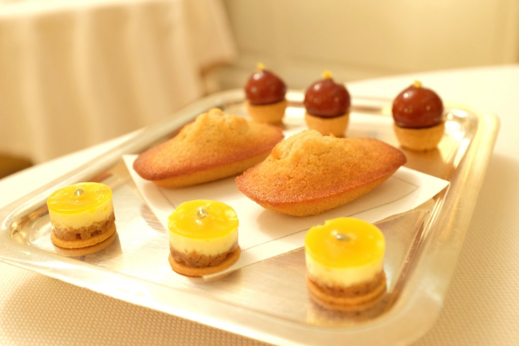 petit fours, Villa Archange, Chef Bruno Oger, Le Cannet, France