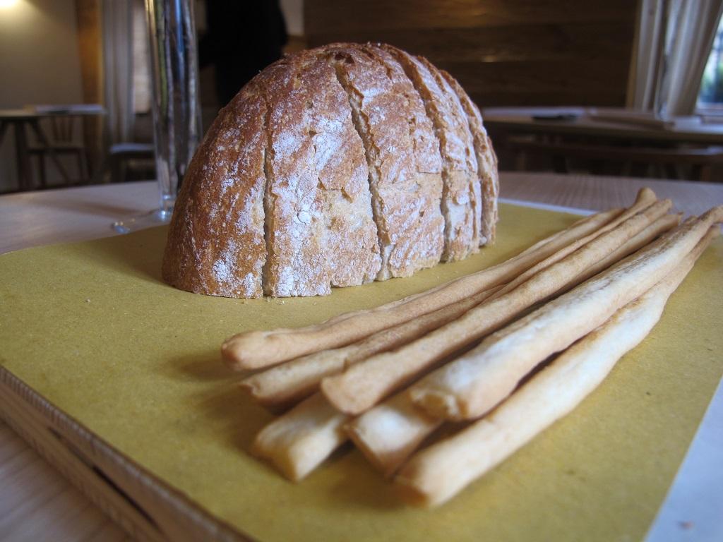 pane e grissini ottimi, AGA, Chef Oliver Piras, San Vito di Cadore