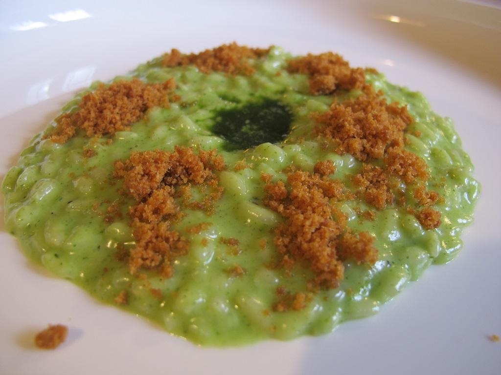 riso crescione d'acqua, AGA, Chef Oliver Piras, San Vito di Cadore
