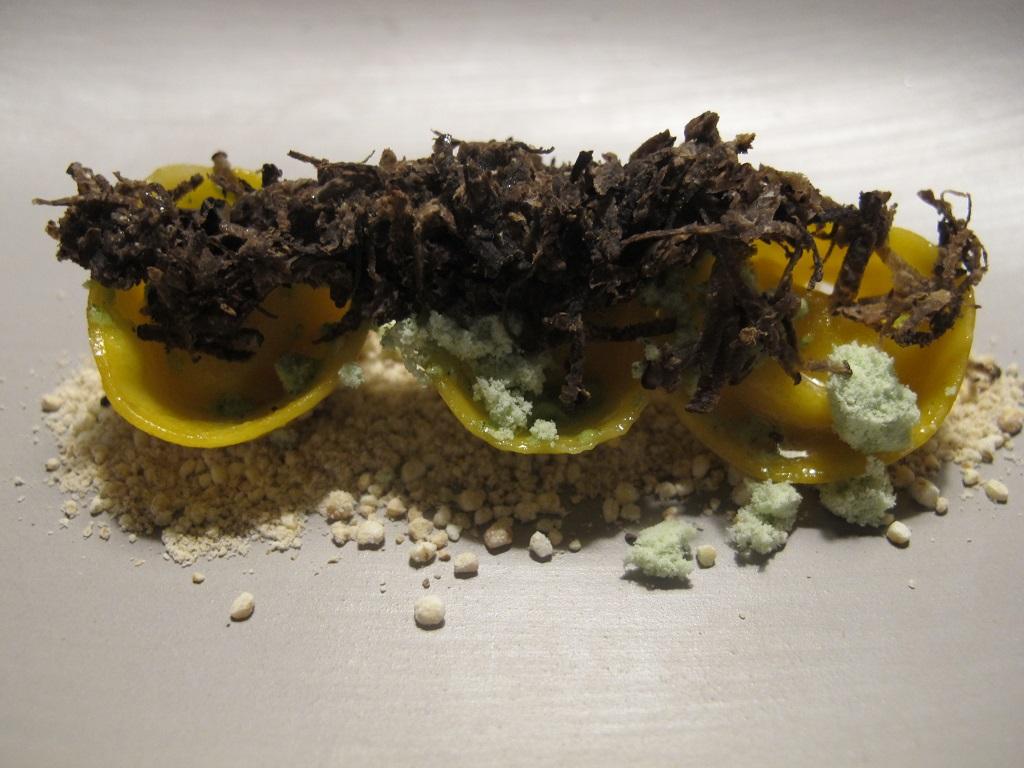 Tortellini al formaggio, Terra, Chef Heinrich Schneider, Val Sarentino