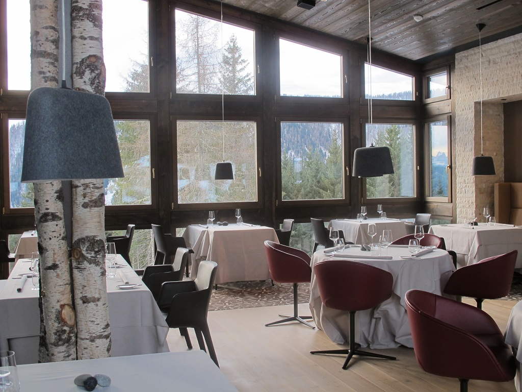 splendida sala panoramica, Terra, Chef Heinrich Schneider, Val Sarentino