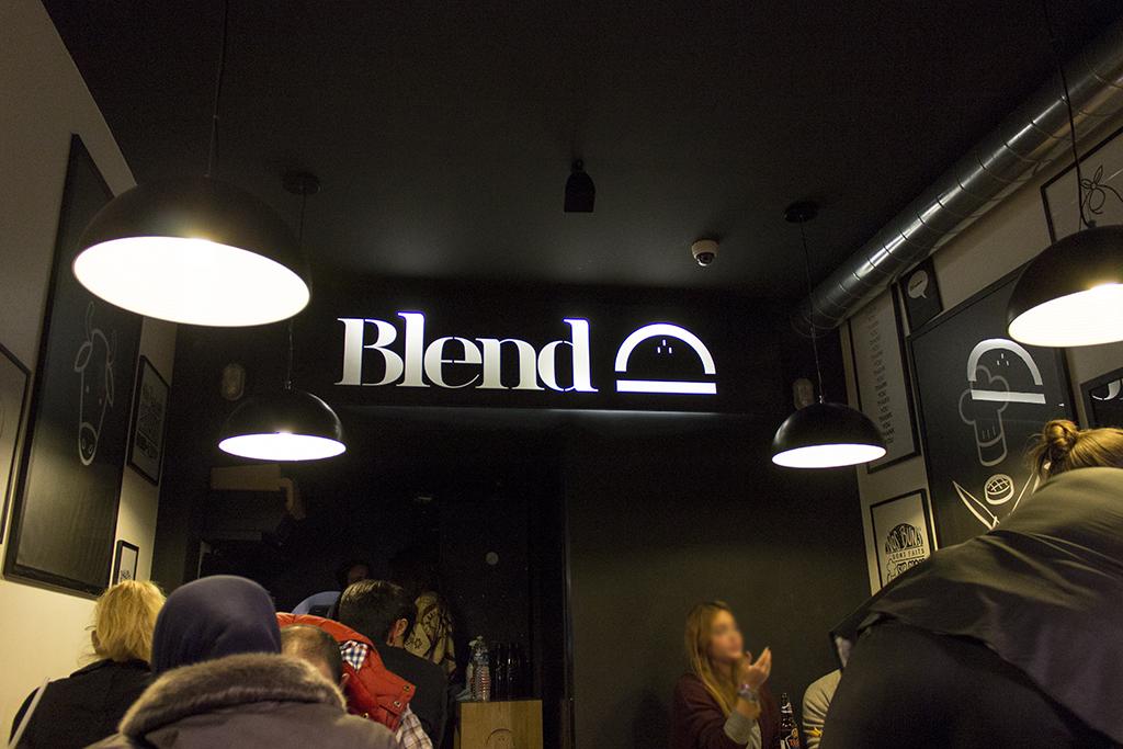 locale, Blend, Hamburger Gourmet, Paris, Francia