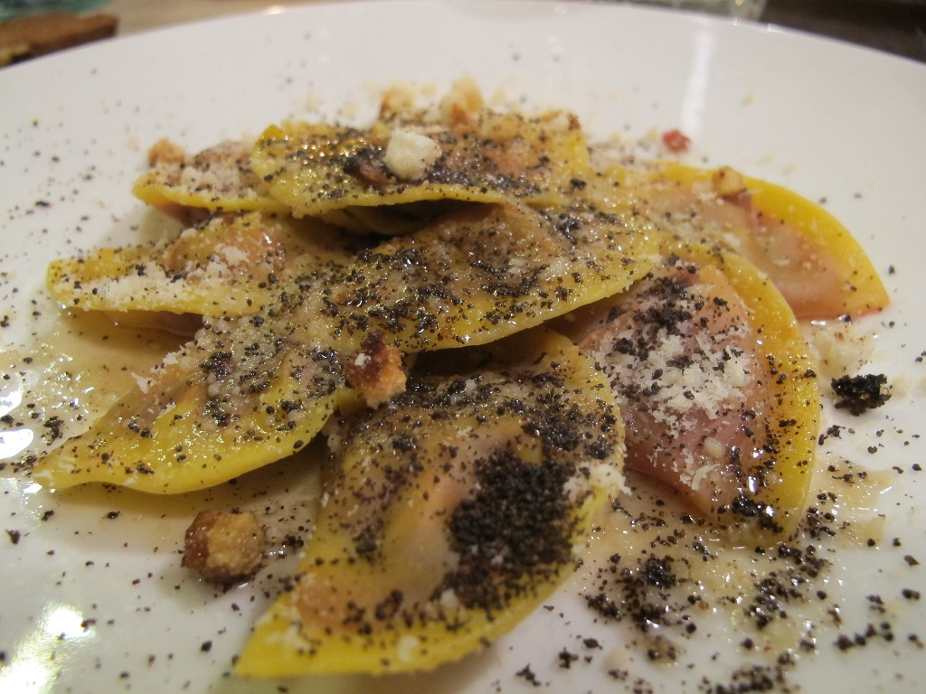 casunzei di rape, El Brite de Larieto, Chef Riccardo Gaspari, Cortina d'Ampezzo
