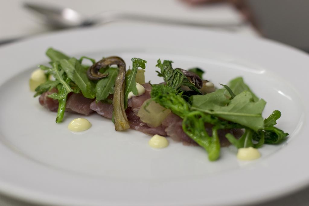 grunt, prosciutto di cinghiale, Manna, Chef Matteo Fronduti, Milano