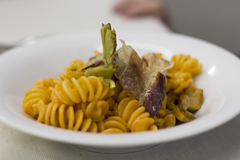 fusilloni ragout di crudo, Manna, Chef Matteo Fronduti, Milano