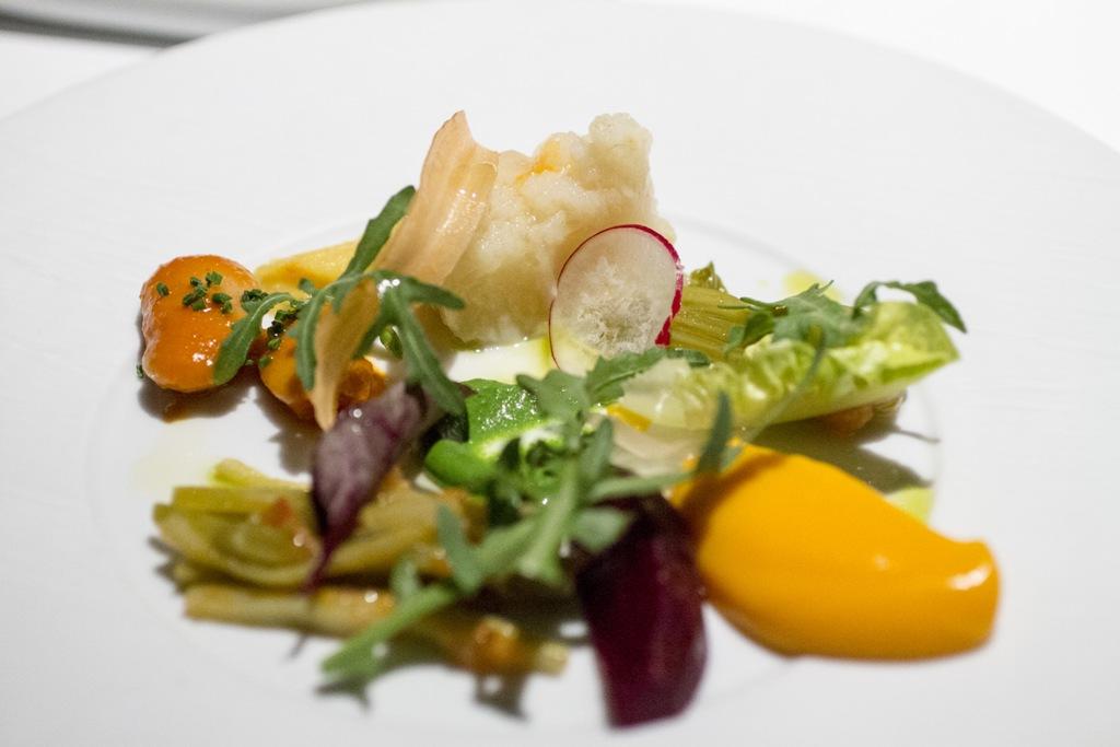 vegetables, Mikla, Chef Mehmet Gürs Meşrutiyet, Istanbul