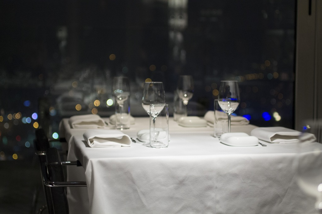 tavolo con vista, Mikla, Chef Mehmet Gürs Meşrutiyet, Istanbul