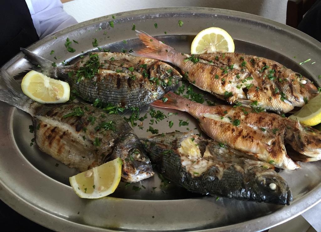 pesce alla griglia, Al Molino, Santa Maria La Scale Acireale