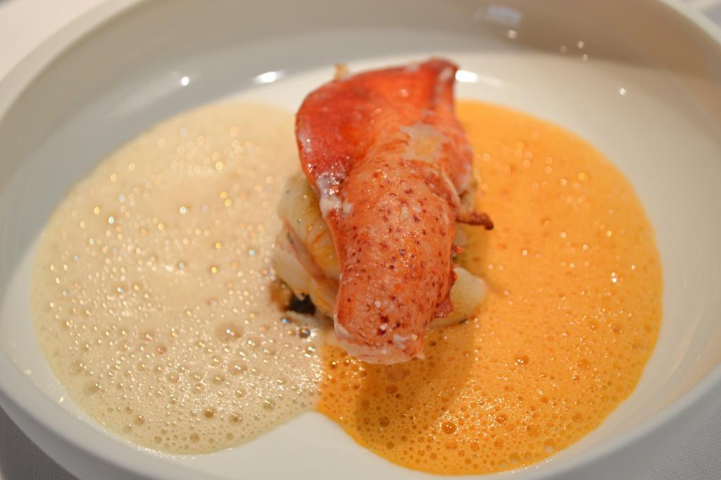 Astice in dubbia salsa, Osteria Francescana, Chef Massimo Buttura, Modena