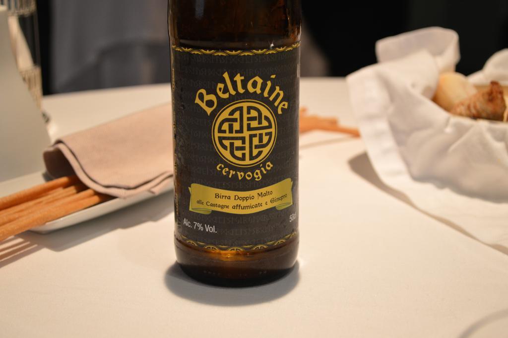 Birra Beltaine, Osteria Francescana, Chef Massimo Buttura, Modena