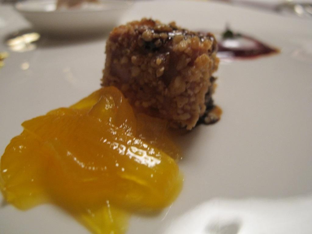pralina di foie gras, Schoneck, Chef Karl Baumgartner, Falzes