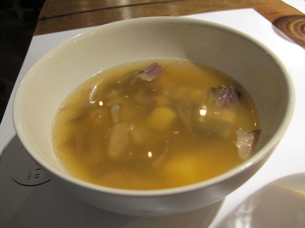 zuppa di cicale, Spazio Eataly, Chef Niko Romito, Roma
