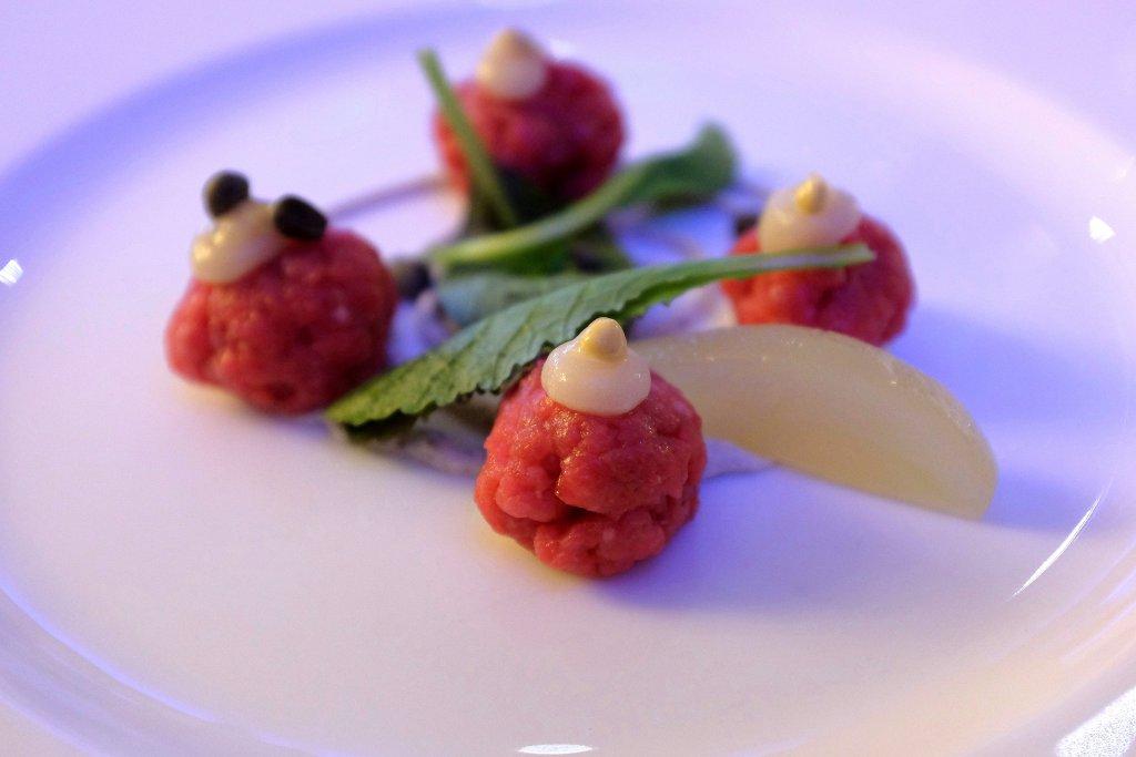 battuta di carne, Il Salumaio di Montenapoleone, Chef Mario Capitaneo, Lugano