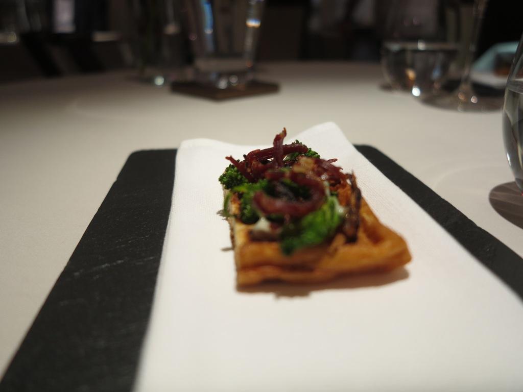 waffle, cime di rapa, Magorabin, Chef Marcello Trentini, Torino