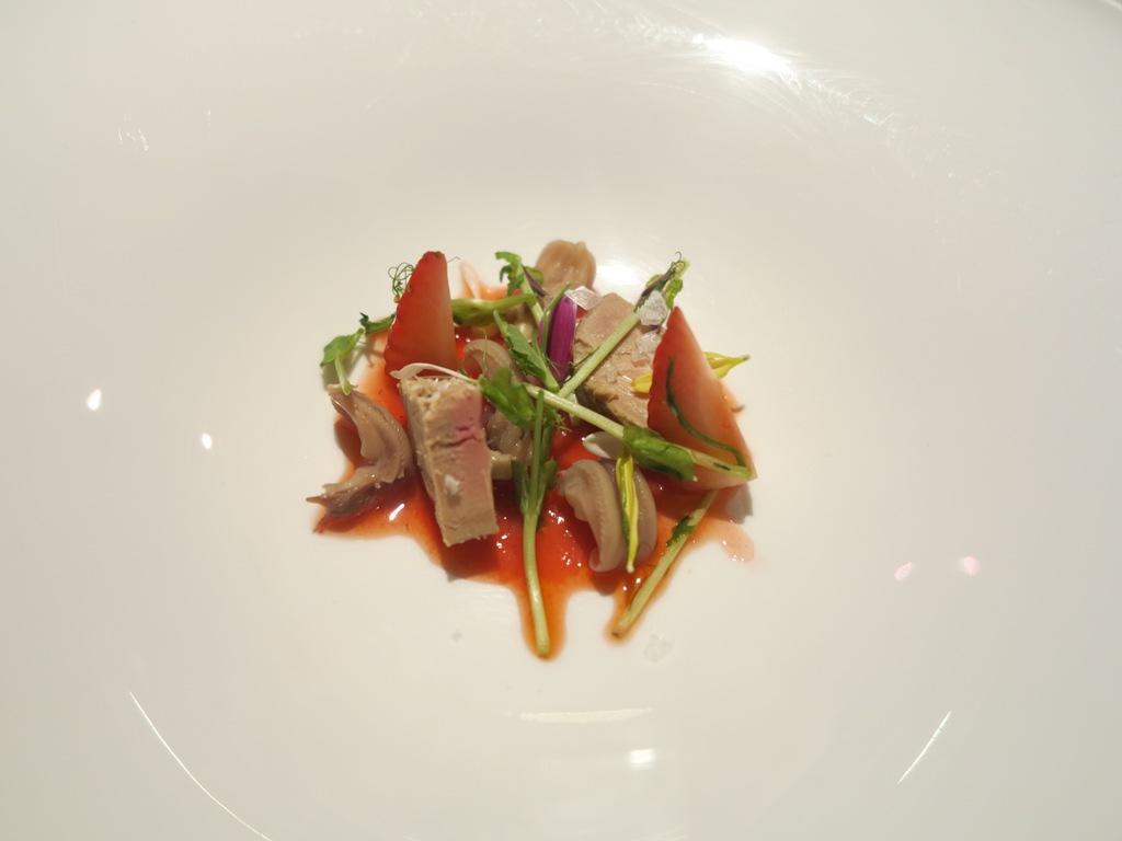 insalata di lingua d'anatra, Magorabin, Chef Marcello Trentini, Torino