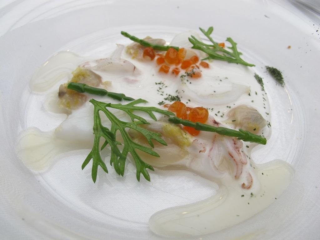 brodetto presso di calamaretti,  Antica Osteria da Cera, Chef Lionello Cera, Lughetto di Campagna Lupia, Venezia