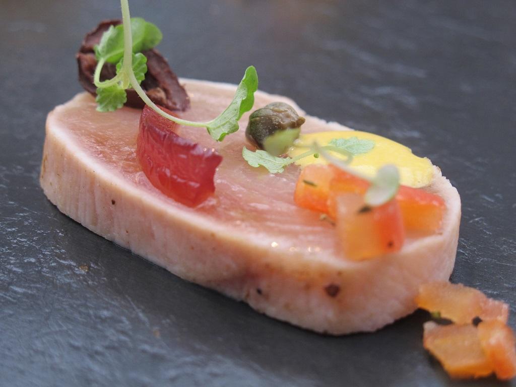 pesce spada sott'olio,  Antica Osteria da Cera, Chef Lionello Cera, Lughetto di Campagna Lupia, Venezia