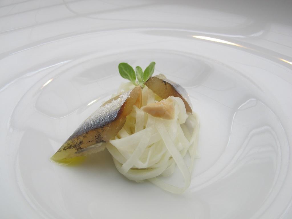 capelli d'angelo di mozzarella,  Antica Osteria da Cera, Chef Lionello Cera, Lughetto di Campagna Lupia, Venezia