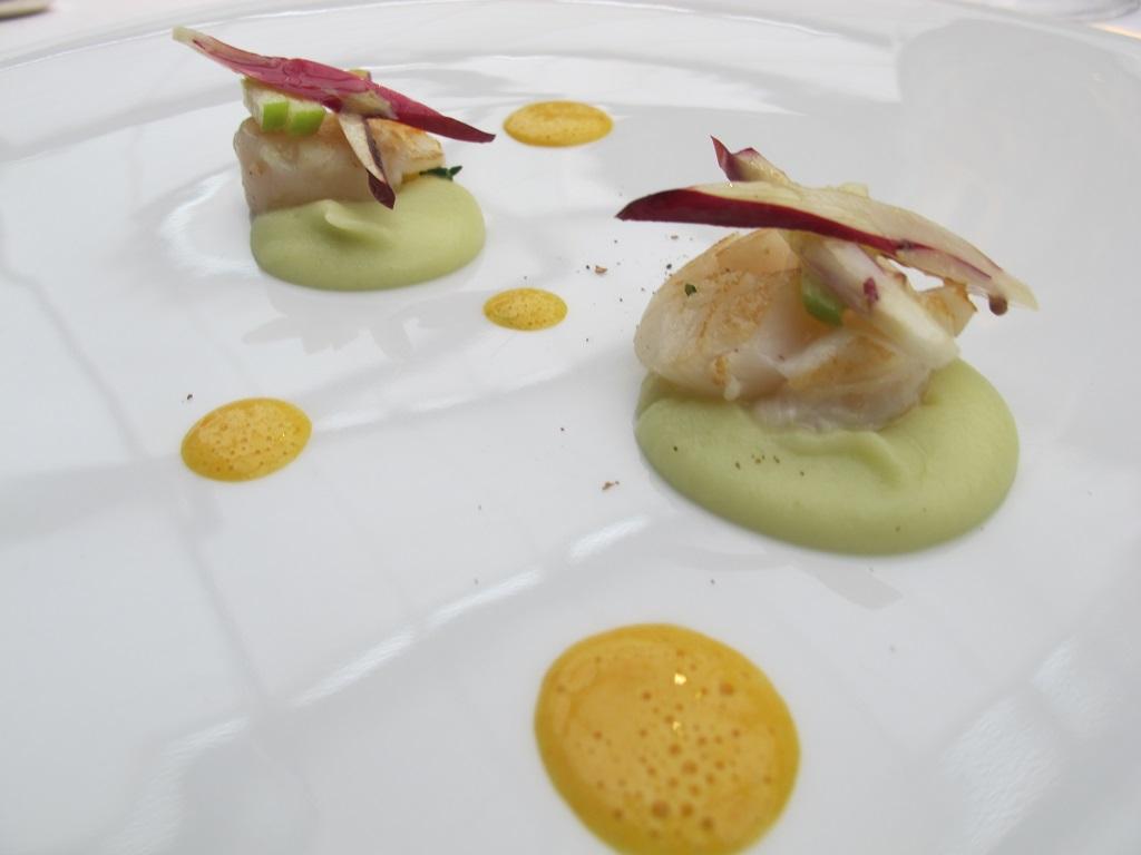 cappesante,  Antica Osteria da Cera, Chef Lionello Cera, Lughetto di Campagna Lupia, Venezia