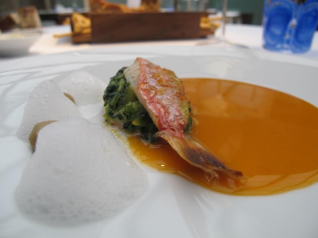 triglia con succo di pesci,  Antica Osteria da Cera, Chef Lionello Cera, Lughetto di Campagna Lupia, Venezia