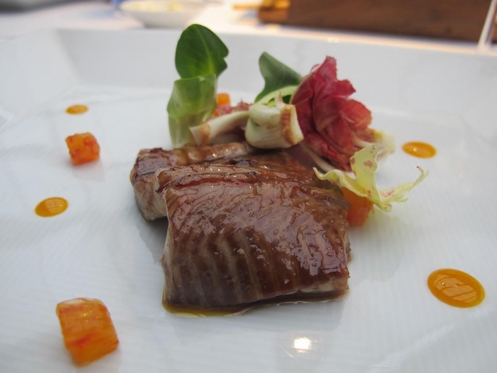 anguilla laccata,  Antica Osteria da Cera, Chef Lionello Cera, Lughetto di Campagna Lupia, Venezia