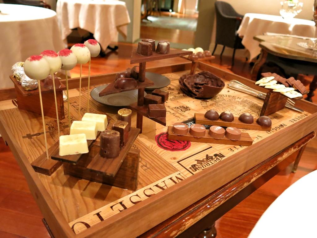 carrello di cioccolati, Enoteca Pinchiorri, Italo Bassi, Riccardo Monco, Annie Feolde, Firenze