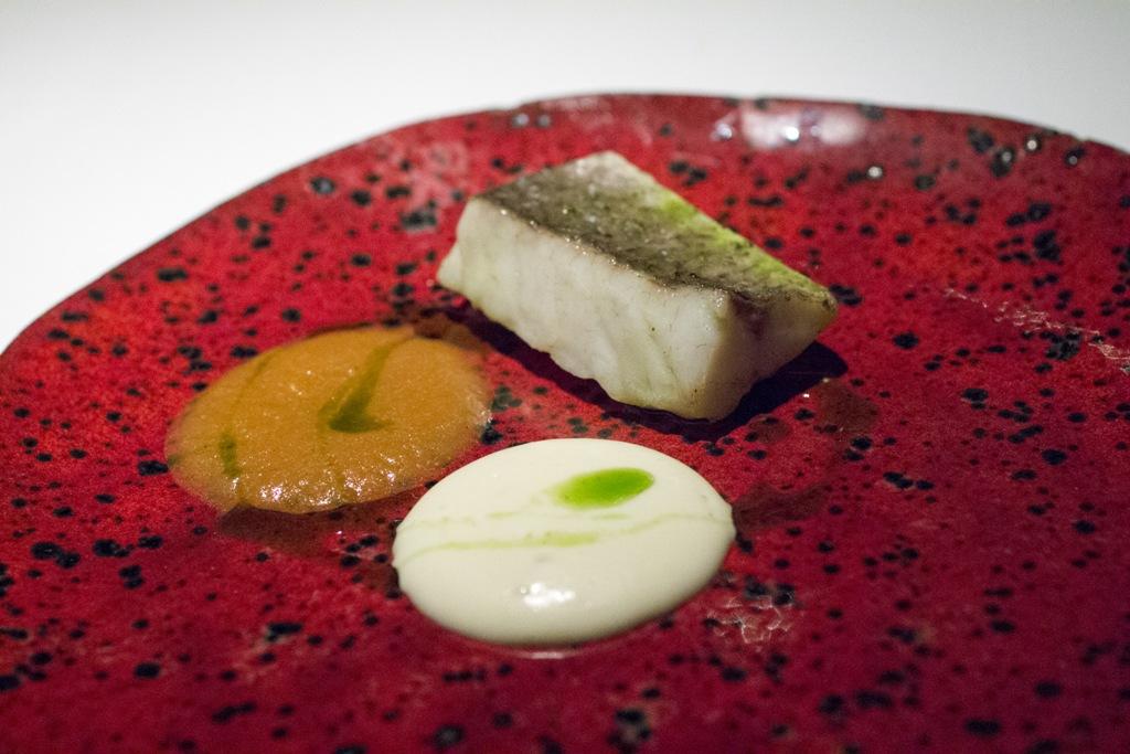 branzino, Gile Restaurant, Chef Cihan Kıpçak e Üryan Doğmuş, Istanbul