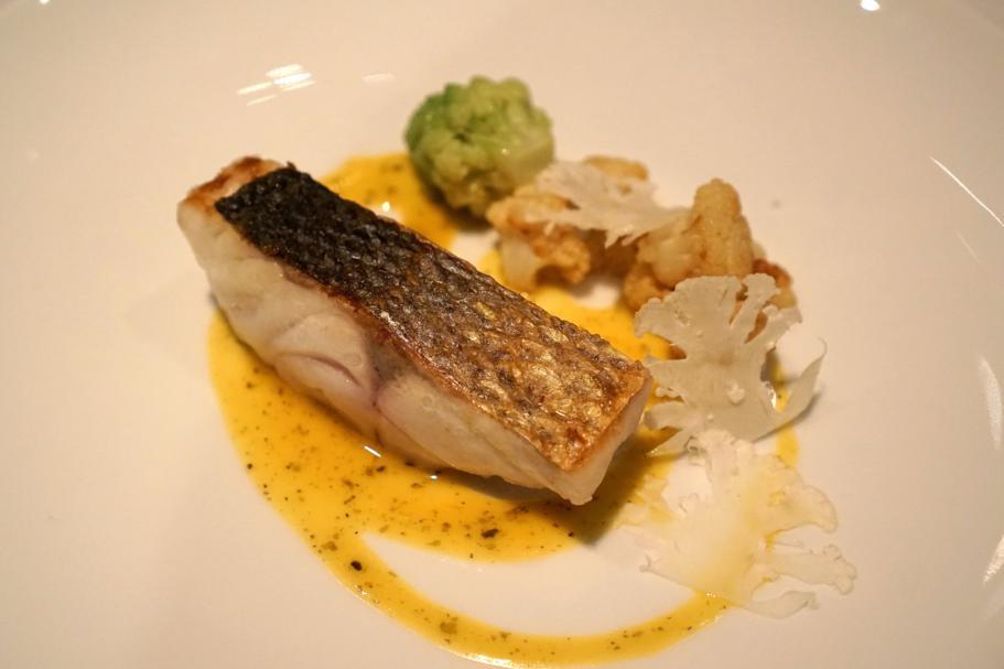Spigola, broccolo, Hedone, Chef Mikael Jonsson, Londra