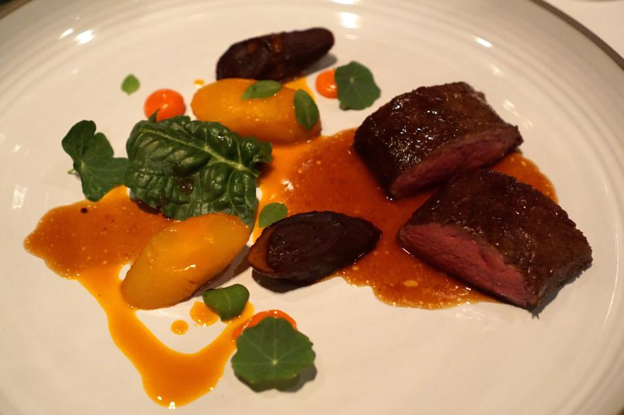 Cervo, carote heritage, Hedone, Chef Mikael Jonsson, Londra