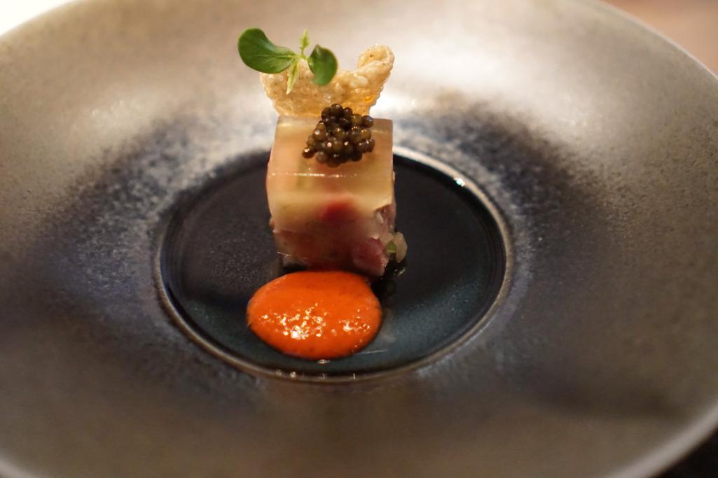 maiale marinato, HKK, Chef Tong Chee Hwee, Londra