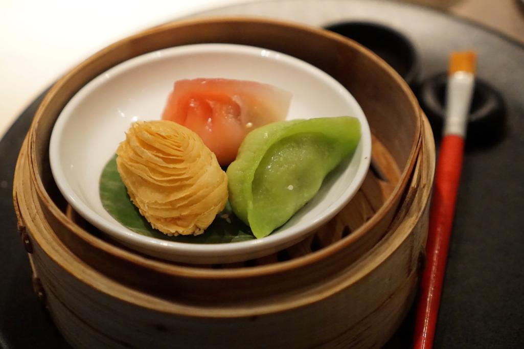 trilogia dim sum, HKK, Chef Tong Chee Hwee, Londra