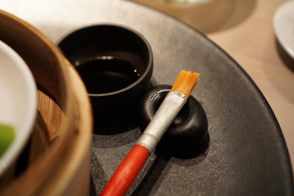 pennello in dotazione, HKK, Chef Tong Chee Hwee, Londra