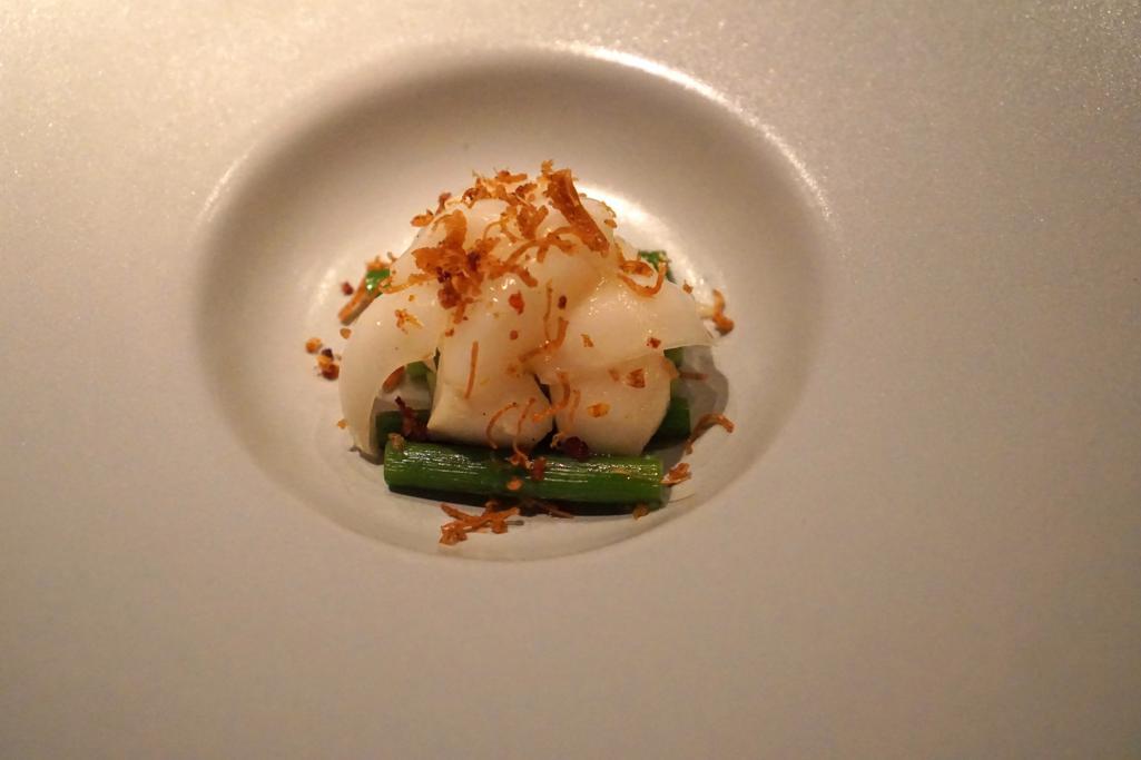 Germoglio di aglio, HKK, Chef Tong Chee Hwee, Londra