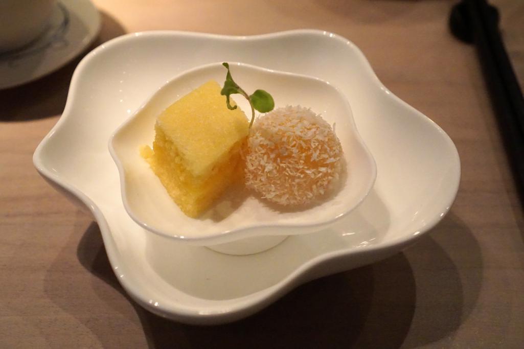 palla di riso e torta, HKK, Chef Tong Chee Hwee, Londra