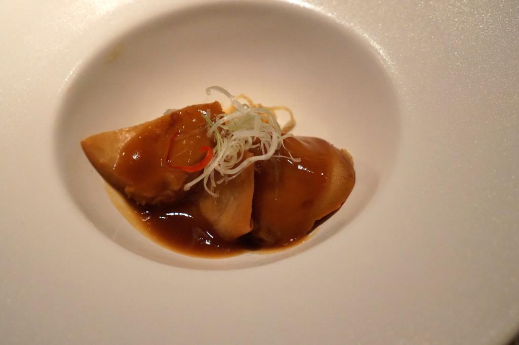 abalone, HKK, Chef Tong Chee Hwee, Londra