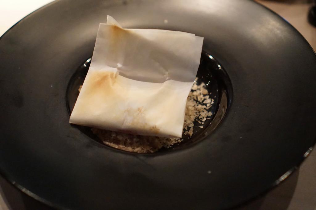 branzino in salsa, HKK, Chef Tong Chee Hwee, Londra