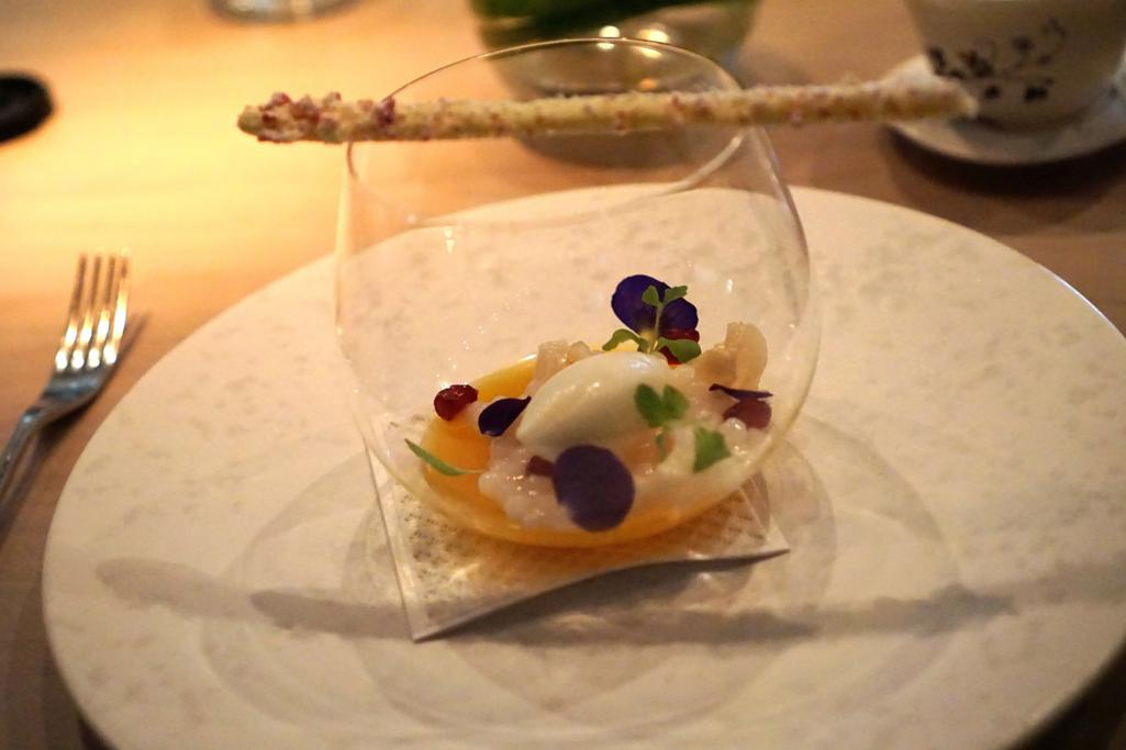 gelatina al frutto, HKK, Chef Tong Chee Hwee, Londra