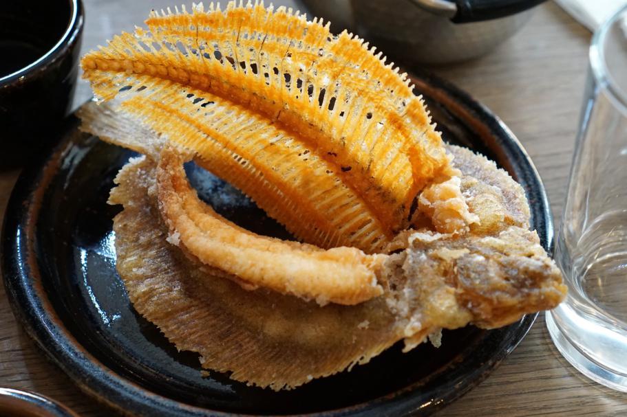 sogliola al limone fritta, Koya, Chef Junya Yamasaki, Londr