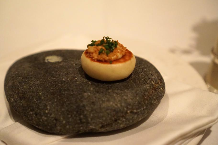 appetizer, The Ledbury, Chef Brett Graham, Notting Hill, Londra