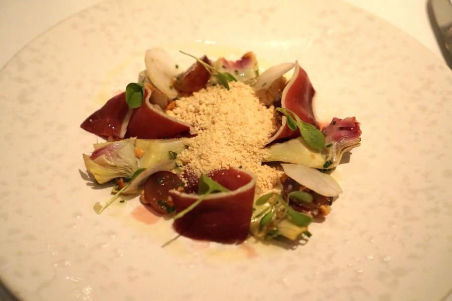 Carciofi, The Ledbury, Chef Brett Graham, Notting Hill, Londra
