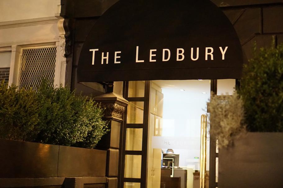 ingresso, The Ledbury, Chef Brett Graham, Notting Hill, Londra