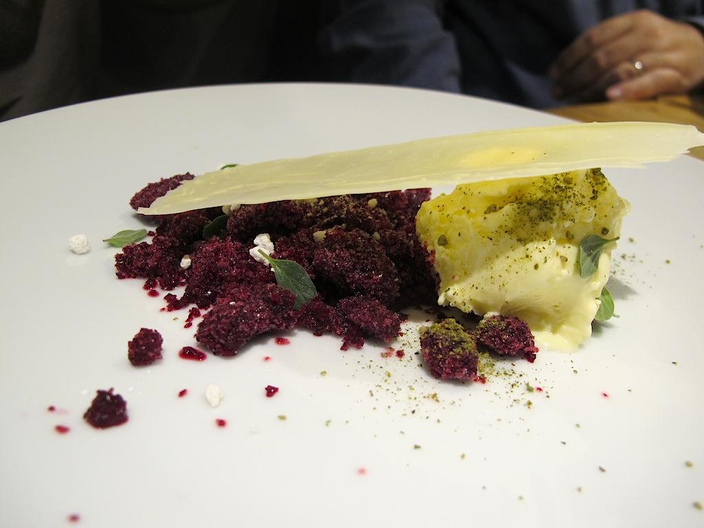 Gelato al mascarpone, Mazzo Laboratorio di cucina, Chef Francesca Barreca, Marco Baccanelli, Roma