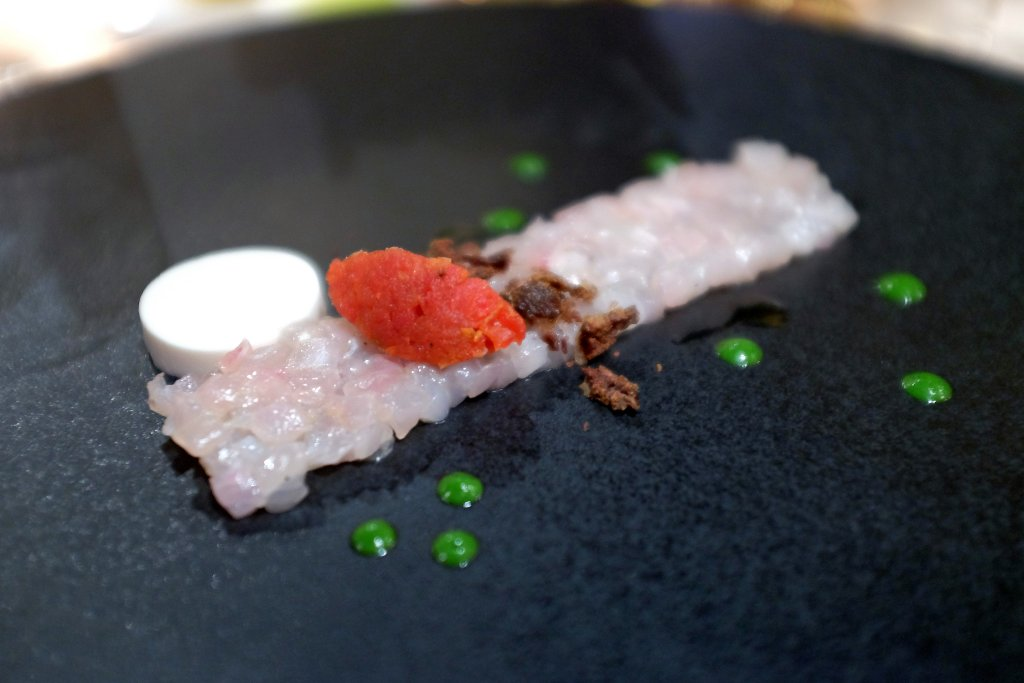 tartare di ricciola, La Pergola, Chef Heinz Beck, Roma