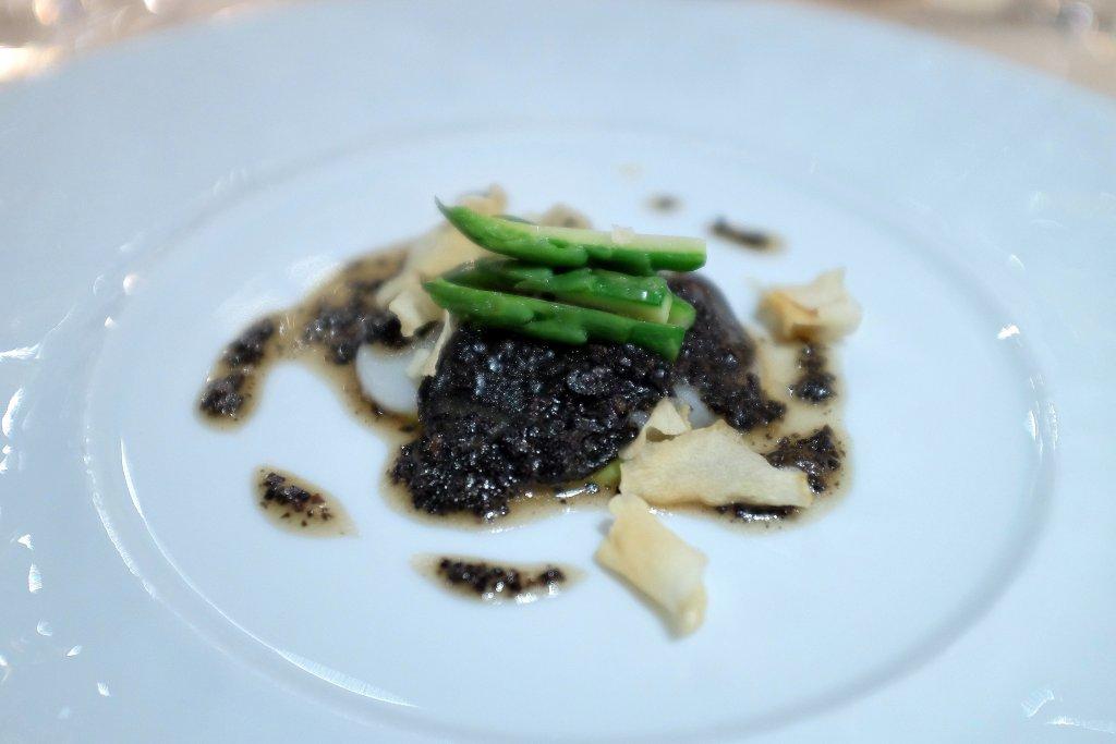 sfoglie di capesante, La Pergola, Chef Heinz Beck, Roma