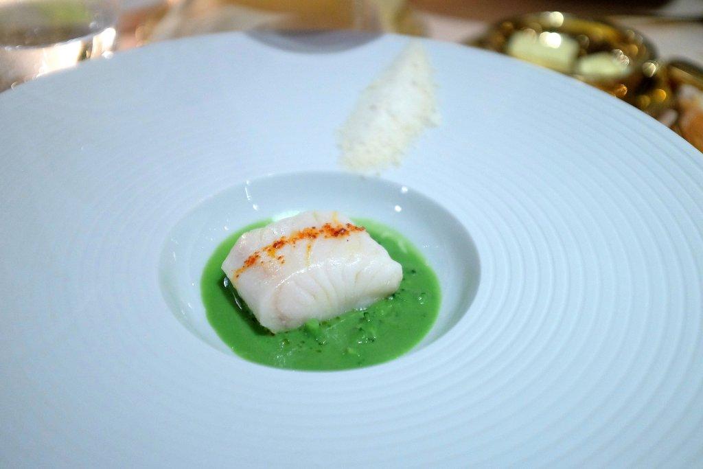 merluzzo con broccolo, La Pergola, Chef Heinz Beck, Roma