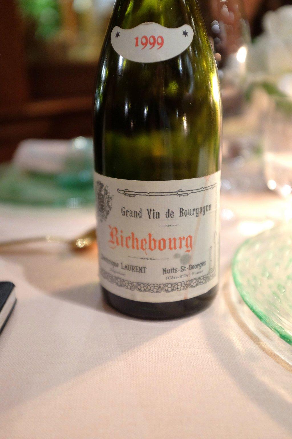 richebourg, vino, La Pergola, Chef Heinz Beck, Roma