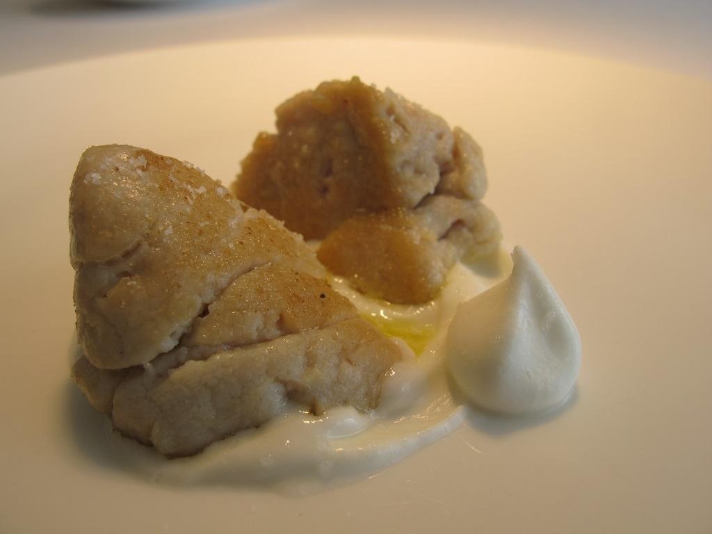 animelle panna e limone, Reale, Chef Niko Romito, Castel di Sangro